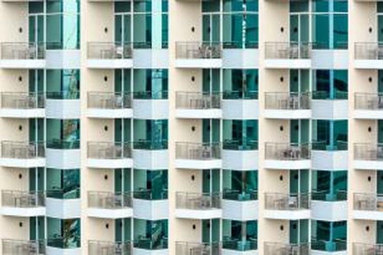 Untuk serviced apartment tercatat ada lonjakan dari 4.5 persen menjadi 80.9 persen. Sementara itu, untuk kondominium angkanya meroket dari 1.0 persen menjadi 62.9 persen.
