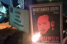 AJI Makassar Peringati 17 Tahun Kematian Udin
