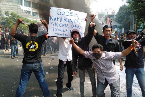 Gojek Tanggapi Keluhan Mitra Pengemudi yang Demo di Depan Kantornya