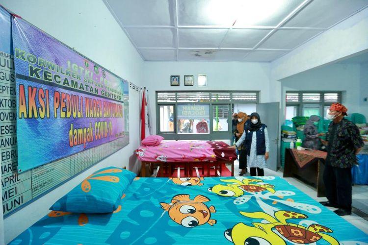 Kurangi Beban RS, Isolasi Terpusat di Banyuwangi Manfaatkan Sekolah hingga Homestay