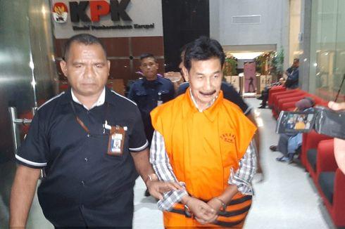 KPK Eksekusi Mantan Bupati Solok Selatan Muzni Zakaria ke Lapas Sukamiskin