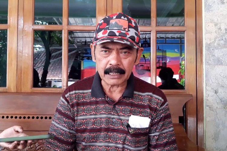Ketua DPC PDI-P Solo FX Hadi Rudyatmo di Solo, Jawa Tengah, Senin (24/5/2021).