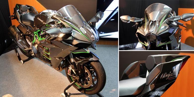 Kawasaki Ninja H2 menjadi model flagship dengan banderol Rp 580 juta.