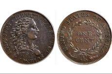 Koin 1 Sen Pertama AS akan Dilelang, Diperkirakan Bernilai Rp 15 Miliar