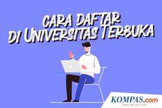 INFOGRAFIK: Cara Daftar Kuliah di Universitas Terbuka