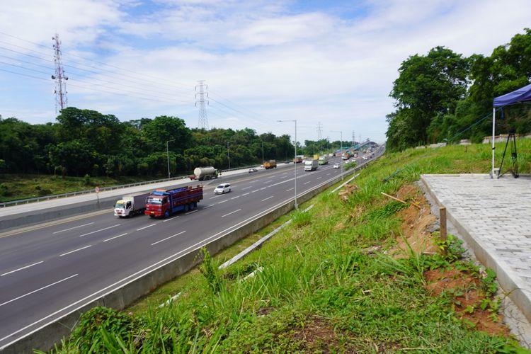 Ilustrasi jalan tol Jakarta-Cikampek.