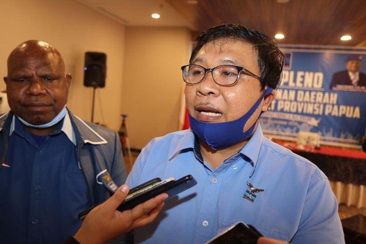 Wakil Ketua DPD Demokrat Papua Mustaqim.