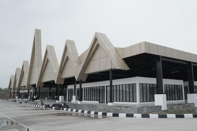 Rest Area KM 215 B Ruas Tol Terbanggi Besar-Pematang Panggang, dalam event Merapah Trans Sumatera 2019.