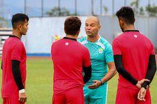 Latihan Khusus Kiper Persib Bandung Selama Jalani Latihan Mandiri