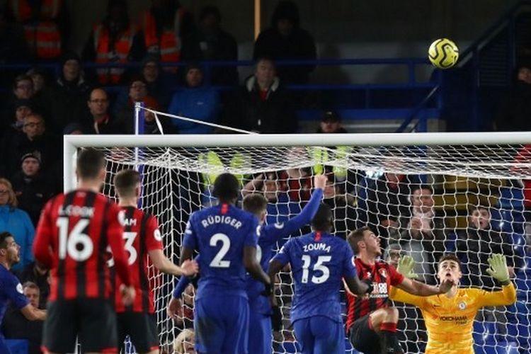 Laga antara Chelsea vs Bournemouth