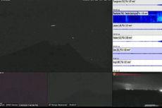 Kilatan Cahaya yang Terekam CCTV di Puncak Merapi Diduga Lintang Alihan