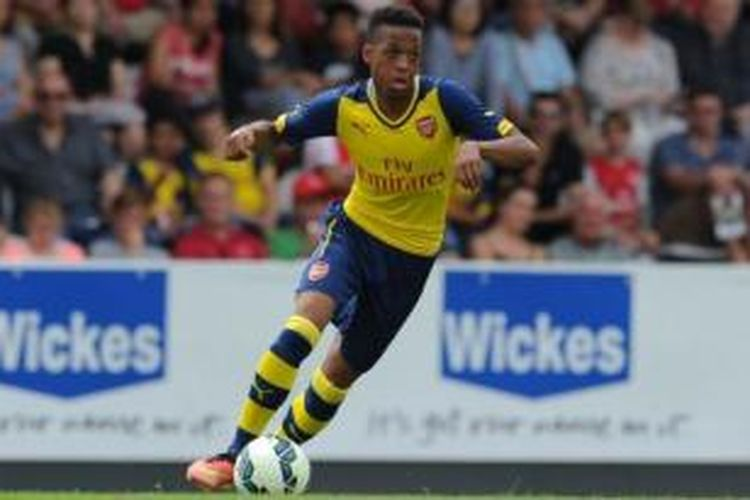 Pemain muda Arsenal, Chris Willock.