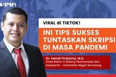 Viral di TikTok, Ini Tips Mengerjakan Skripsi ala Wakil Rektor Unnes