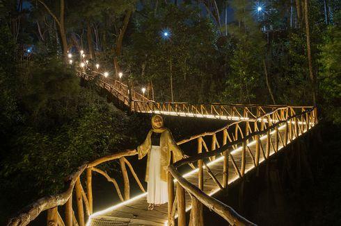 Indahnya Suasana Malam di Seribu Batu Songgo Langit Yogyakarta