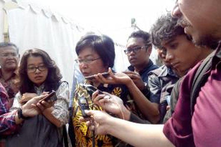Menteri Lingkungan Hidup dan Kehutanan Siti Nurbaya