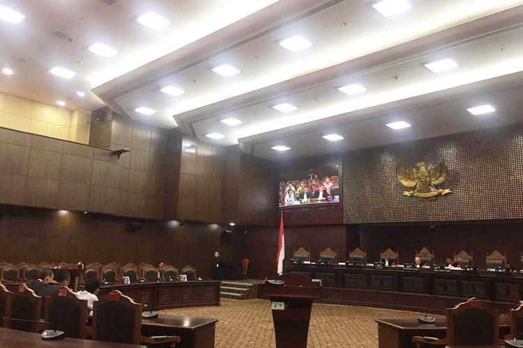 Sidang Uji Materi UU ASN di Gedung Mahkamah Konstitusi (MK), Jakarta Pusat, Rabu (5/2/2020).