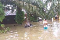 4 Kisah Warga Kampar Bertahan di Tengah Kepungan Banjir: Panen Sawit demi Sesuap Nasi hingga Berperahu Selamatkan 7 Kambing