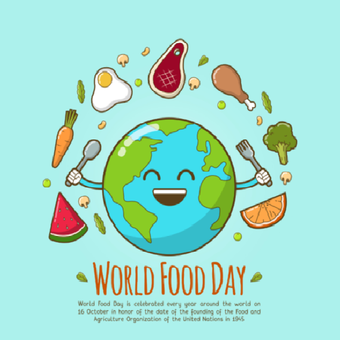 Ilustrasi World Food Day