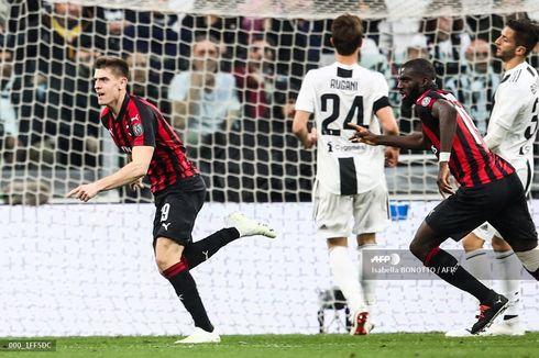 Jadwal dan Link Live Streaming Liga Italia, Juventus Vs AC Milan