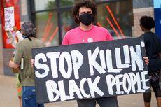 Pria Kulit Hitam George Floyd Tewas karena Lehernya Diinjak Polisi, Warga AS Demo Protes