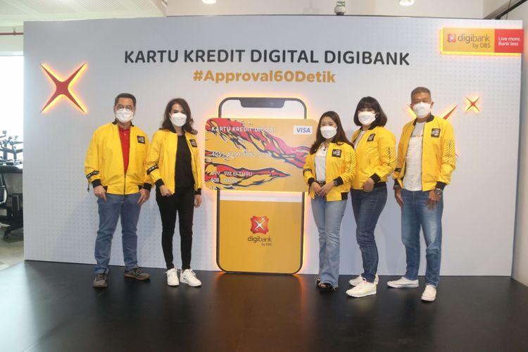 DBS Indonesia Luncurkan Kartu Kredit Digital digibank
