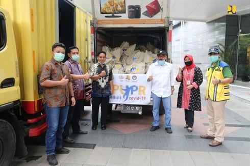 200 Paket Sembako Disalurkan untuk Komunitas Tukang Cukur