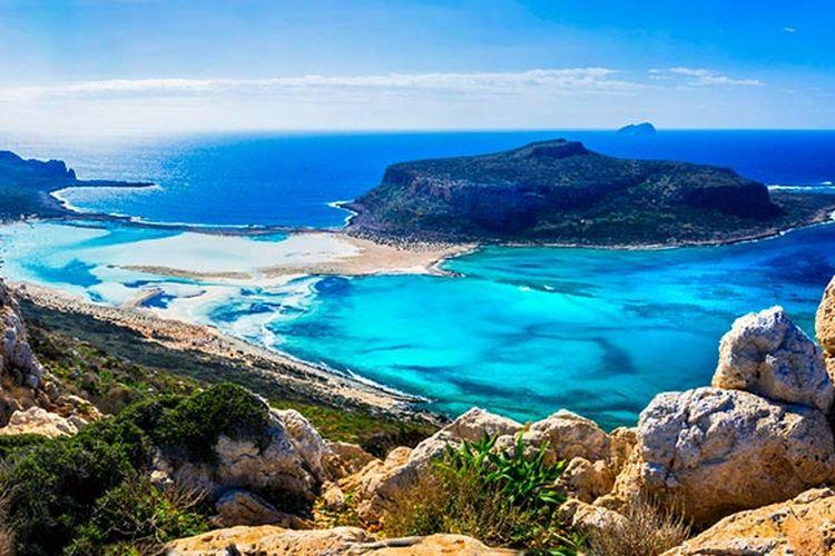 Pantai Balos, Yunani