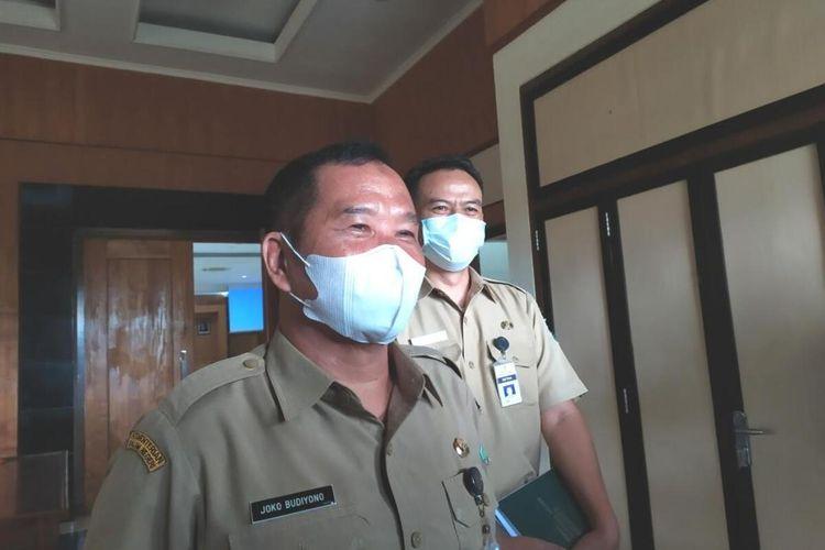 Sekda Kota Magelang Joko Budiyono ditemui di kantornya, Senin (11/1/2021),