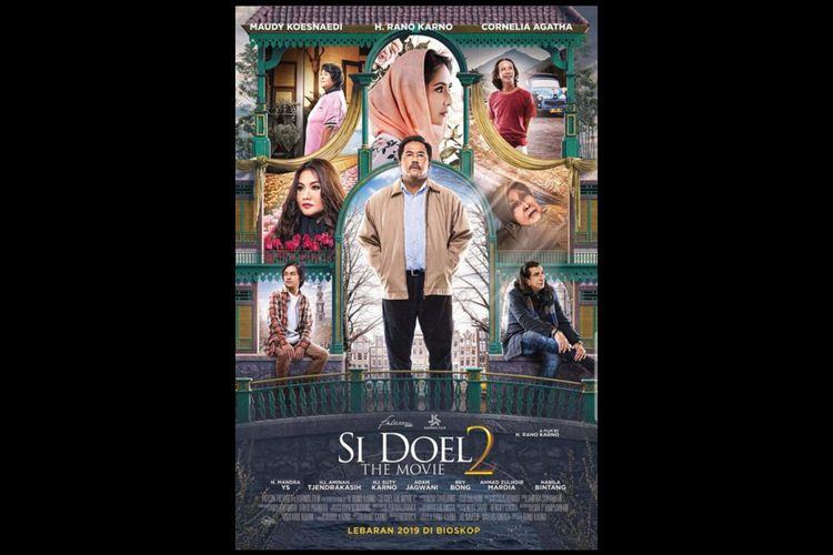 Poster film Si Doel The Movie 2 (2019). Tayang di Netflix.