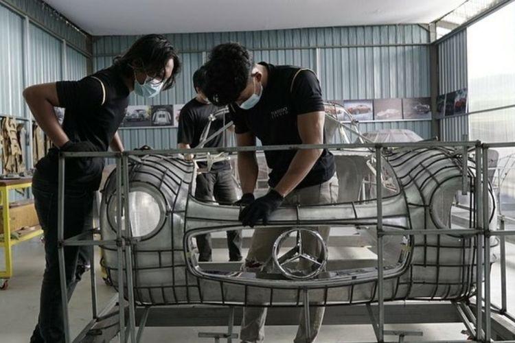 Mercedes-Benz 300 SL Gullwing Bambang Soesatyo