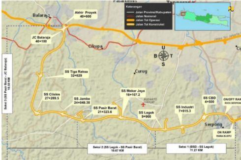 Tol Serpong-Balaraja Dukung Pengembangan Wilayah Barat Jakarta