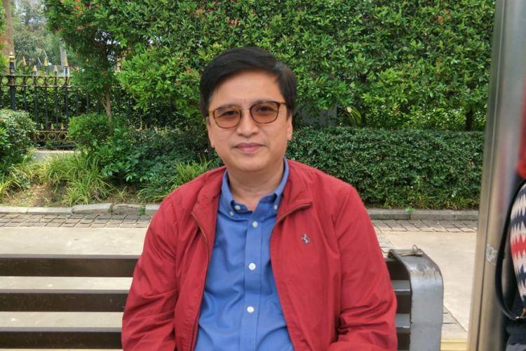 Direktur Utama PD Pembangunan Sarana Jaya Yoory C Pinontoan di Balai Kota DKI Jakarta, Jalan Medan Merdeka Selatan, Jumat (19/10/2018).