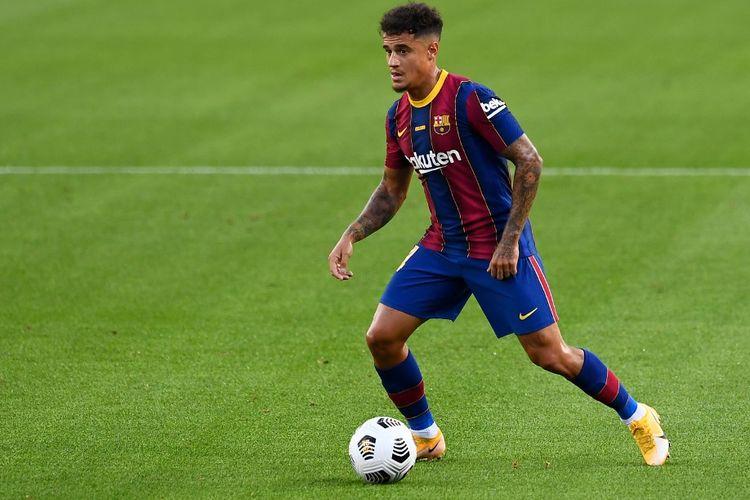 Cedera, Coutinho Terancam Absen Bela Barcelona Lawan Juventus