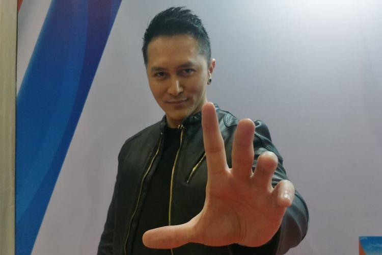 Demian Aditya saat ditemui di Ecovention Ancol, Jakarta Utara, Jumat (23/8/2019),
