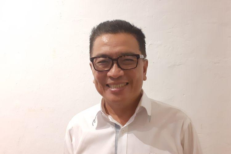 Helmy Yahya saat ditemui di M Bloc Space, kawasan Kebayoran Baru, Jakarta Selatan, Rabu (13/2/2020).