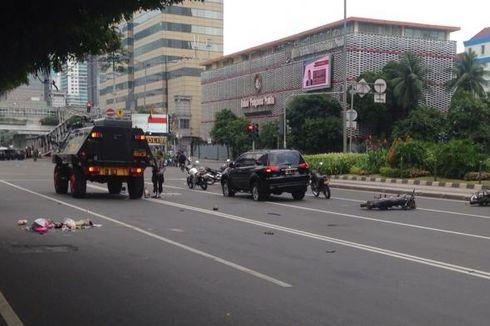 Evakuasi Korban Bom Sarinah, 8 Ambulans Disiapkan Dekat Djakarta Theater