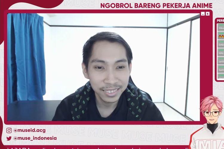 Aswin Nur Cahya, seorang pekerja anime asal Indonesia yang terlibat di pembuatan Tokyo Revengers.