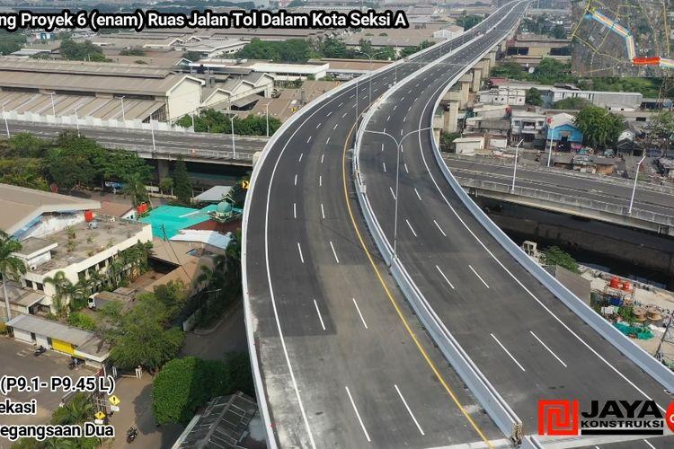 Jalan tol layang dalam kota Kelapa Gading - Pulogebang
