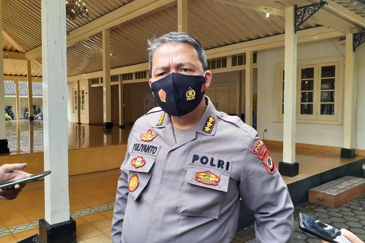 Kombes Pol Yuliyanto saat ditemui di Kompleks Kepatihan
