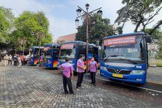 Tiba di Solo, Pemudik Dijemput Bus Menuju Tempat Karantina
