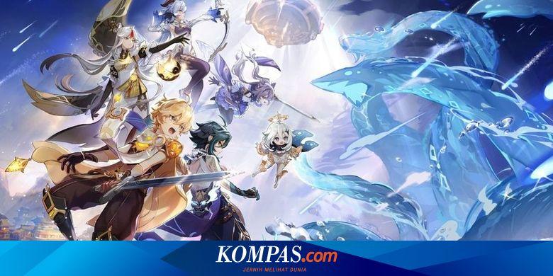 Resmi, Genshin Impact Versi PS5 Meluncur 28 April