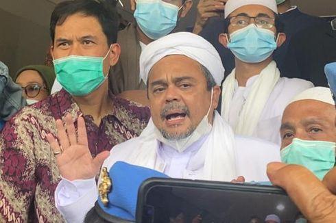 Kronologi Tanggal Penting Kasus Kerumunan Petamburan dan Megamendung dari Rizieq Shihab