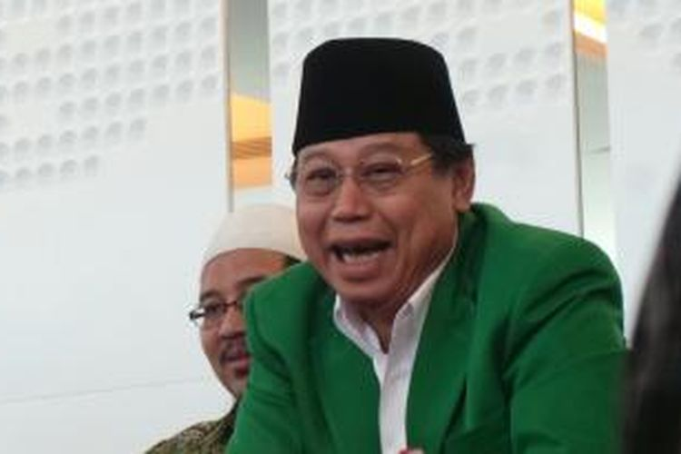 Ketua Umum DPP PPP versi Mukernas di Jakarta, Djan Faridz.