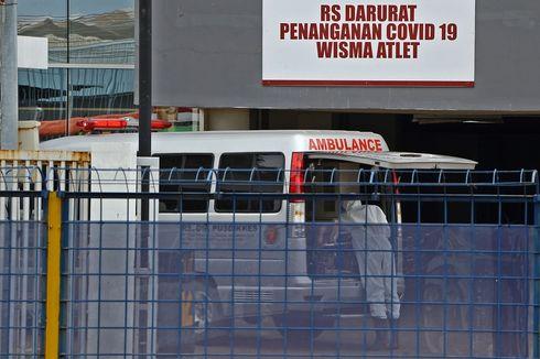 RSD Wisma Atlet Rawat 353 Pasien Positif Corona