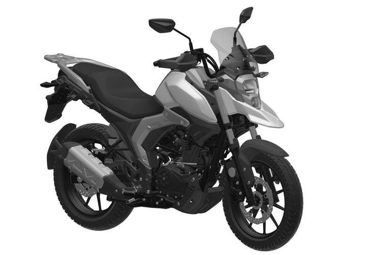 Paten motor baru Haojue yang ditengarai sebagai V-Strom 150