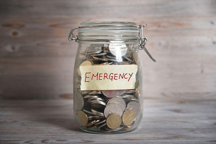 Ilustrasi dana darurat.