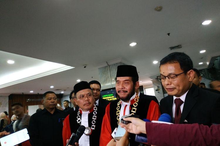 Ketua MK Anwar Usman di Gedung MK, Jakarta Pusat, Selasa (28/1/2020).