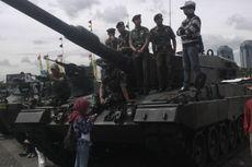 MBT Leopard 2A4, Tank Tercanggih TNI AD Dipamerkan di Monas