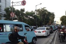 Begini Peta Kemacetan di Blok A dan B Pasar Tanah Abang