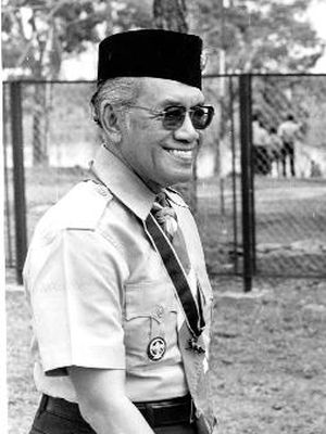 Sri Sultan Hamengku Buwono IX, Bapak Pramuka Indonesia